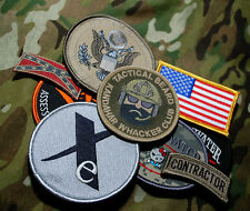 US EMBASSY BAGHDAD STATE DEPT WPS PRIVATE CONTRACTOR KITTY TEAM 9-VELCRO-SSI SET