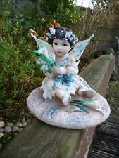 THE LEONARDO COLLECTION FAIRIE POPPETS SWEET BABY LILLY BY CHRISTINE HAWORTH