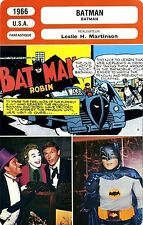 CARTE FICHE CINEMA 1966 BATMAN