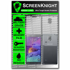 ScreenKnight Samsung Galaxy Note 4 / IV FULL BODY SCREEN PROTECTOR invisible