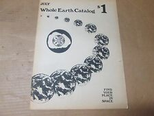 Whole Earth Catalog July 1970 Supplement  Find Your Place In Space