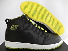 NIKE AIR JORDAN 1 RETRO 94 BLACK-VENOM GREEN-BLACK SZ 9.5 [631733-030]