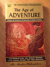 The Age of Adventure by Giorgio de Santillana (1959, Paperback) store#796B