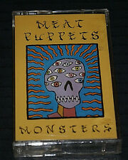 Meat Puppets - Monsters - CASSETTE TAPE - SEALED SST CANADA IMPORT OUT OF PRINT