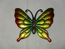 New ~ Butterfly Wall Plaque Sign ~ Butterfly Design ~ Tin (#2)