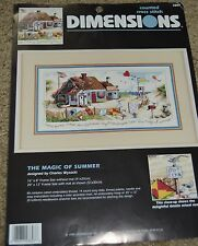 "Charles Wysocki ""THE MAGIC OF SUMMER"" By Dimensions **PATTERN ONLY**"