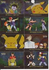 Pokemon Topps TV Series 2 Holo Foil Special Chase Cards EP 24 of 25 Missing 1