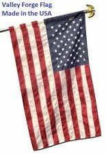 """2.5x4 FT 30""""x48"""" US American Flag Pole Sleeve Banner Style Valley Forge Nylon"""