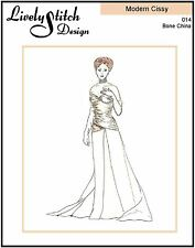"Bone China / sewing pattern for the 21"" Modern Cissy by Madame Alexander"