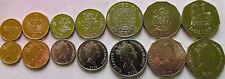 Solomon Islands set of 7 coins 2005-2010 (1+2+5+10+20+50 cents + 1 dollar) UNC