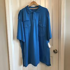 Rocawear Mens Big And Tall Short Sleeve Polo Rugby Golf Shirt Size 5X
