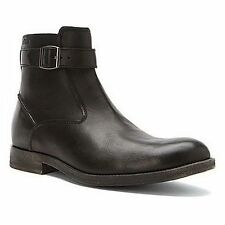 Clarks Men's Goby Top Casual Boots Black 67476 Sz 11