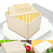 1Set Kitchen Mould Tool Tofu Maker Press Mold Kit + Cheese Cloth Soy Home Garden