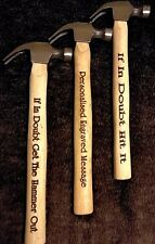 Personalised Engraved Hammer - Birthdays Weddings Christmas Fun Fathers Day