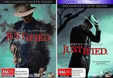 Justified Series COMPLETE Season 4 & 5 : NEW DVD