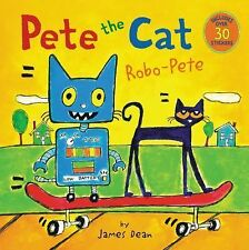 Pete the Cat - Robo-Pete by James Dean (Paperback) Brand New Free Shipping