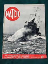 "Graf Spee Sunk - French ""Black"" Africa Army - 1939 WW II French Magazine ""MATCH"""