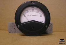 Weston Electrical Panel Meter Microamperes DC 200 UA Model 2531