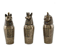 "3.5"" Egyptian Canopic Jars Home Egypt Decor Statue"