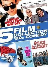 DVD Ferris Bueller Airplane Naked Gun Police Academy Planes Trains & Automobiles