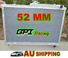 GPI 52MM Aluminum Radiator for Nissan Skyline R33 R34 GTR GTST RB25DET Manual