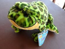 Webkinz Bull Frog New with Sealed Code HM114 Green Stuffed Animal Plush Toy