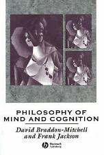 Philosophy of Mind and Cognition, , Jackson, Frank, Braddon-Mitchell, David, Acc