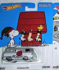 PEANUTS HOT WHEELS ✿ SNOOPY DOG HOUSE '66 DODGE A100 ✿ REAL RIDER DIECAST VAN