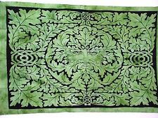 """Celtic Green Man Forest Spirit Tapestry Wall Hanging / Throw Size 86"""" X 56"""""""