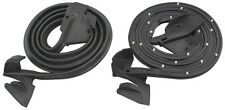 68 69 Camaro Door Weatherstrip PR Molded Ends. New Ready to Ship Rubber Gasket
