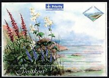 Finland / Aland - 2000 Postcard flowers