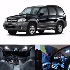 LED White Lights Interior Package Kit For Mazda Mazda Tribute 2008-2011 (9 pcs)