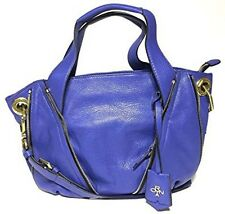 NWT Oryany Leather Lian Satchel Blue Color MSRP: $356.00