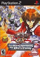 Yu-Gi-Oh GX: The Beginning of Destiny. PlayStation 2. PS2. Complete. Rare.