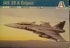 1:48 scale jas 39 A Gripen plastic model kit by Italeri