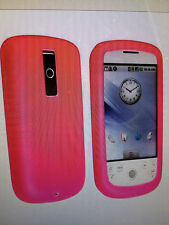 SET OF THREE~NEW~Hot Pink Silicone Case for HTC Magic-Ship free