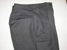 $225 new Jos A Bank Traveler Solid Navy pleated pants 54 W long rise reg fit