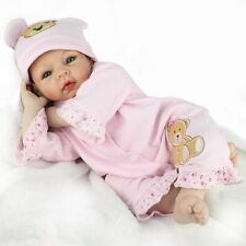 Handmade Reborn Baby Boy Dolls Soft Vinyl Silicone Baby Doll Kids Birthday Gifts