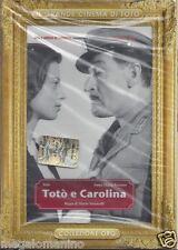 Dvd **TOTO' E CAROLINA** di Mario Monicelli nuovo Slipcase 1954