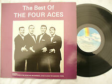 THE FOUR ACES LP THE BEST OF mca 1687