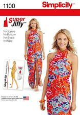 SIMPLICITY SEWING PATTERN MISSES' 1971 JIFFY COVER UP 2 LENS SIZE XXS - XXL 1100