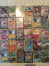 100x CARTA POKEMON Job Lotto Bundle garantito più holo, rare e EX!!!