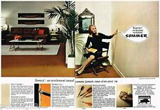 Publicité Advertising 1968 (2 pages) Le Revetement mural Sommer
