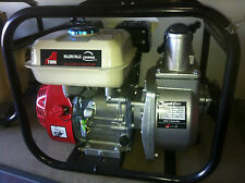 "Water Pump Fire Fighting Petrol 5.5Hp 2"" high Pressure Millers Fall  pump"