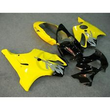 Yellow ABS Plastic Fairing Bodywork For Honda CBR600F4 CBR 600 F4 1999 2000 7B