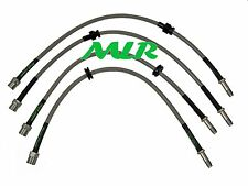 BMW 3 SERIES E46 320 325 328 330CI M3 AEROQUIP BRAIDED BRAKE LINES HOSES XR
