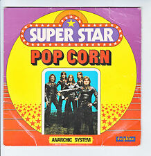 "ANARCHIC SYSTEM Vinyl 45T 7"" SP POP CORN - SUPER STAR DELPHINE AZ  SG 554 RARE"