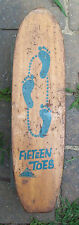 Vintage 1960's Fifteen Toes Sidewalk Surfboard (Skateboard) by Nash