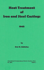 Heat Treatment of Iron and Steel Castings – 1945 – new reprint