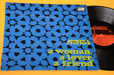 BOOKER T & THE MG'S LP A WOMAN A LOVER..1°ST ORIG ITALY 1967 LAMINATED COVER